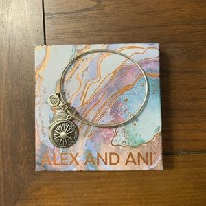 Alex and Ani sun and moon bracelet